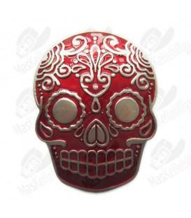 Red Tattoo Skull