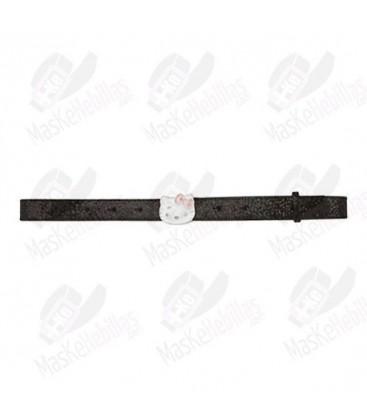 Ragazza cintura nera di Hello Kitty lucido