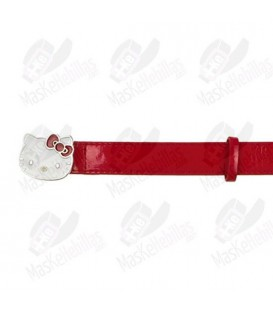 Ceinture Rouge Fille Hello Kitty