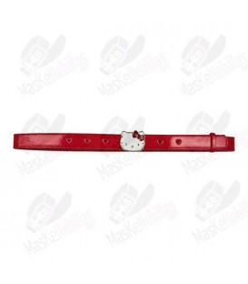 Cinturón Niña Hello Kitty Rojo