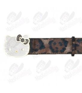 Cinto Hello Kitty Leopardo