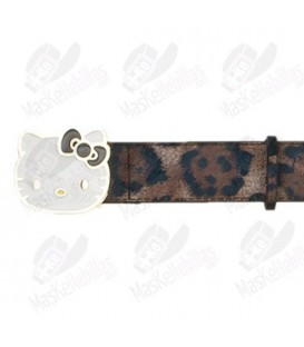 Cintura Hello Kitty Leopardo