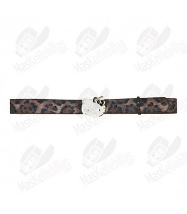 Ceinture Hello Kitty Leopard