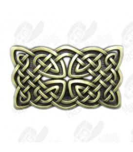 Bronze Vintage Keltischer Knoten