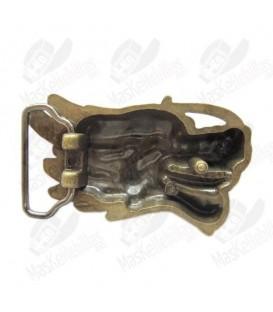Dragon Head Antique Brass