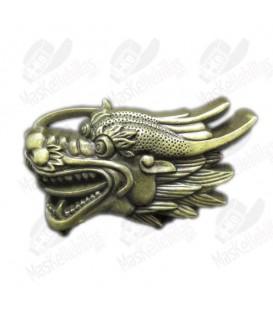 Cabeza de Dragón Latón Antiguo