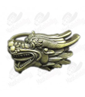 Dragon Head Antique Brass