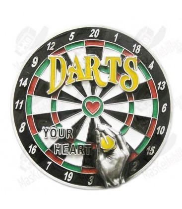 Dartboard. Jeu de fléchettes