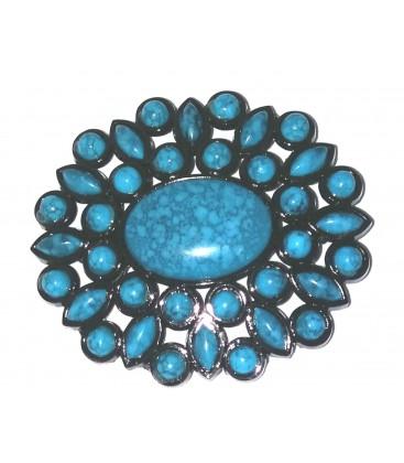 Étoile Indienne Bleu