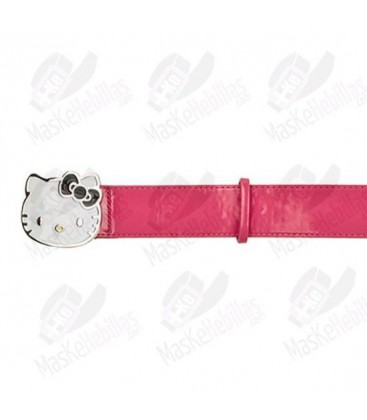 Bonjour ceinture Kitty rose